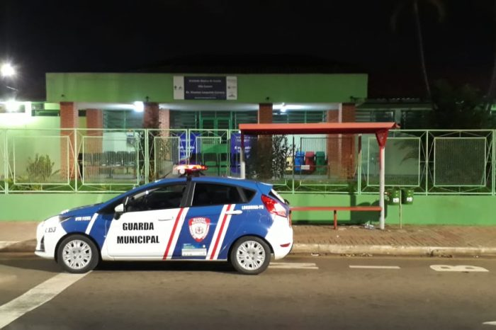 Guarda Municipal prende suspeito por tentativa de furto em UBS da Vila Casoni