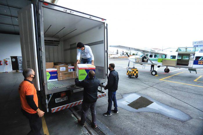 Estado distribui mais 360.250 vacinas contra a Covid-19; Londrina receberá mais de 29 mil