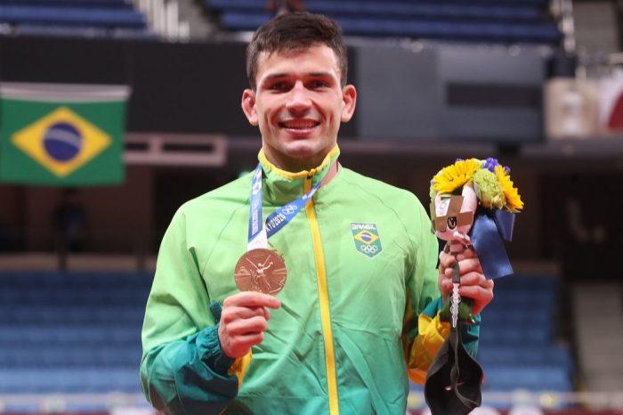 Daniel Cargnin fatura primeiro bronze do judô brasileiro na Olimpíada