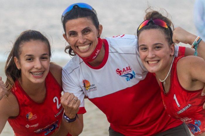 Dupla londrinense de vôlei de praia é premiada em torneio nacional